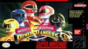 Mighty Morphin Power Rangers - SNES