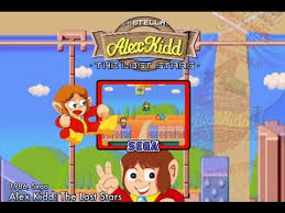 Alex Kidd: The Lost Stars - MAME4droid