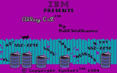 Alley Cat - DOS BOX