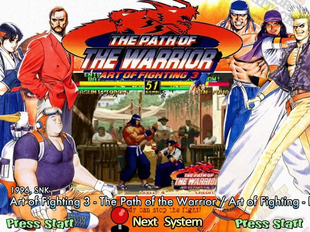 Art of Fighting 3 - The Path of the Warrior - MAME4droid