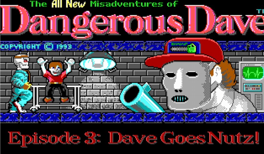 Dangerous Dave 4 - DOS BOX