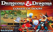 Dungeons & Dragons: Tower of Doom ROM - MAME
