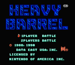 Heavy Barrel ROM - MAME
