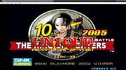 The King of Fighters 10th Anniversary 2005 Unique - MAME