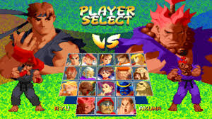 Street Fighter Zero 2 Alpha - MAME4droid