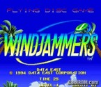 Windjammers / Flying Power Disc - MAME