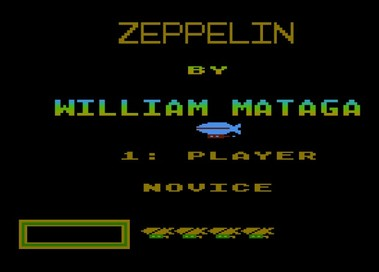 Zeppelin GAME ROM FOR ATARI EMULATOR
